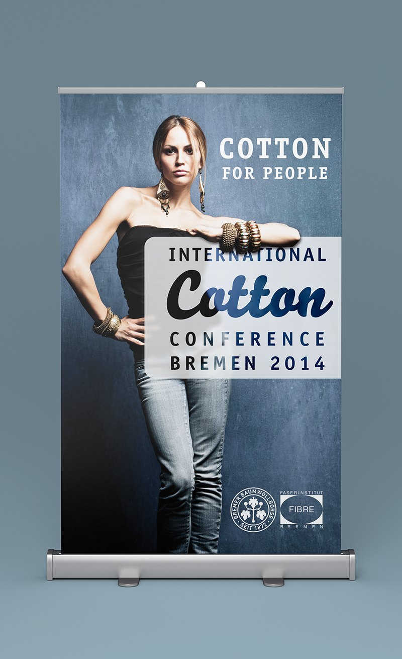 eskalade Baumwollbörse Cotton Conference Corporate Design