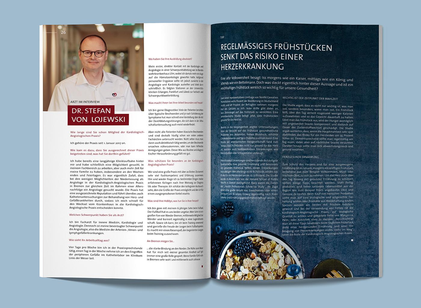 eskalade Kardiologisch-Angiologische Praxis Magazin
