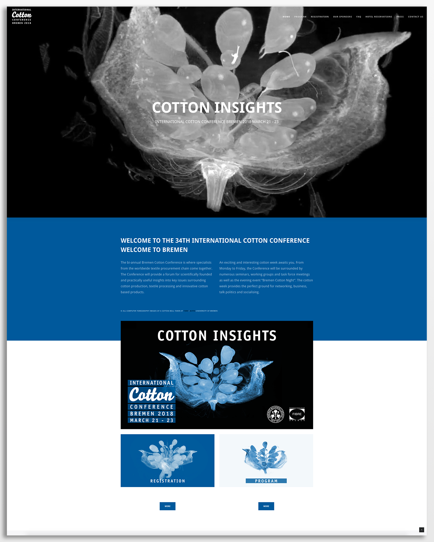 eskalade Baumwollbörse Cotton Conference 2018